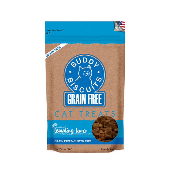 Feline Grain-Free Tuna Cat Treats, 3oz