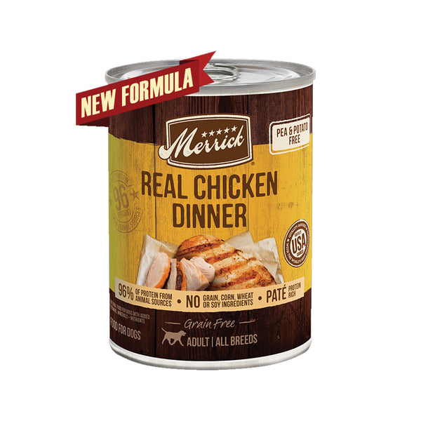 Grain Free Real Chicken Wet Dog Food, 12.7oz