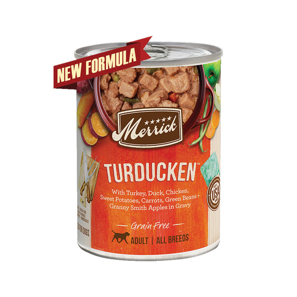 Grain Free Turducken Wet Dog Food, 13.2oz
