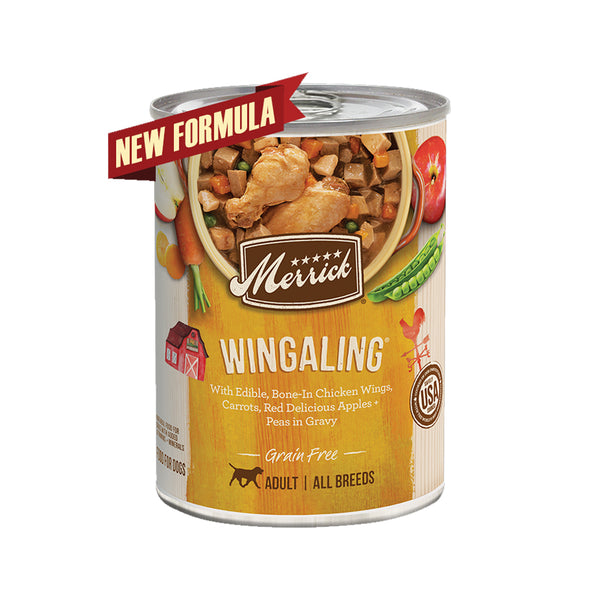 Grain Free Wingaling Wet Dog Food, 12.7oz