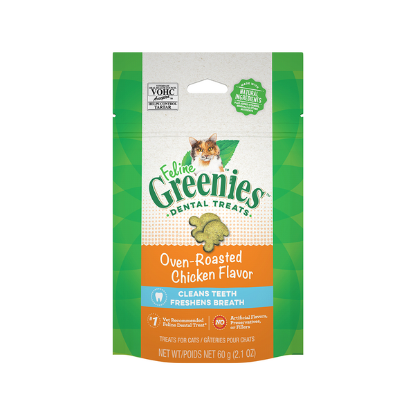 Feline Dental Treats - Chicken, 2.1oz