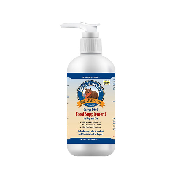 Salmon Oil, 8oz / 237ml