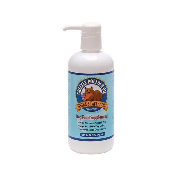 Pollock Oil for Dogs, 16oz / 474ml