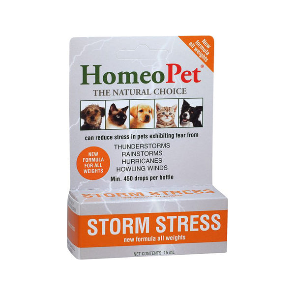 Storm Stress for Dogs & Cats (all weights), 15ml
