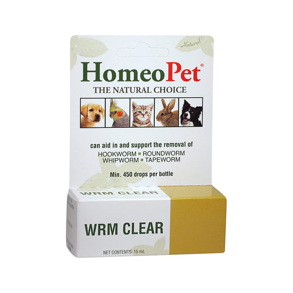 WRM Clear for Dogs, 15ml