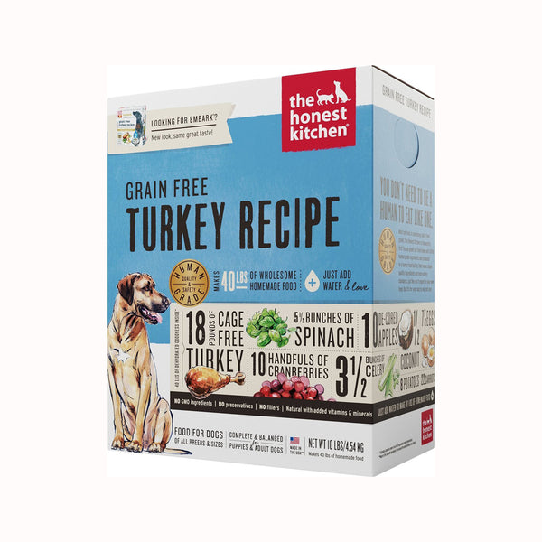 Grain Free Turkey Recipe, 4lb