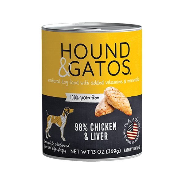 98% Chicken & Liver Grain Free, 13oz