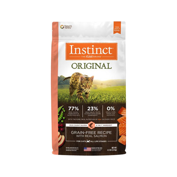 Original Grain Free Cat Kibble - Salmon, 10lb