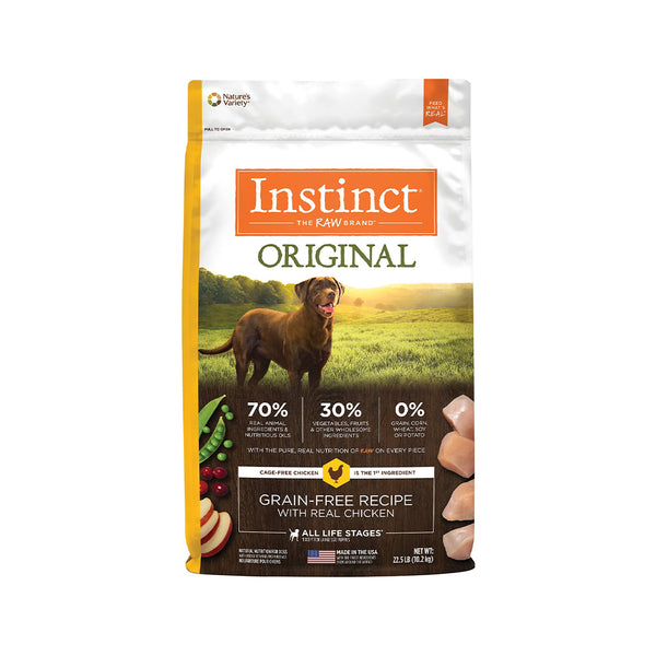 Original Grain Free Dog Kibble - Chicken, 22.5lb