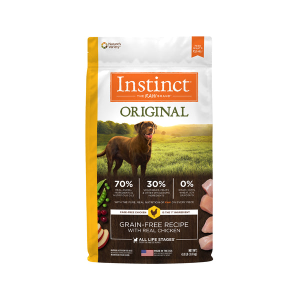 Original Grain Free Dog Kibble - Chicken, 4lb