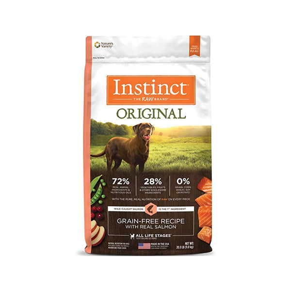 Original Grain Free Dog Kibble - Salmon, 20lb