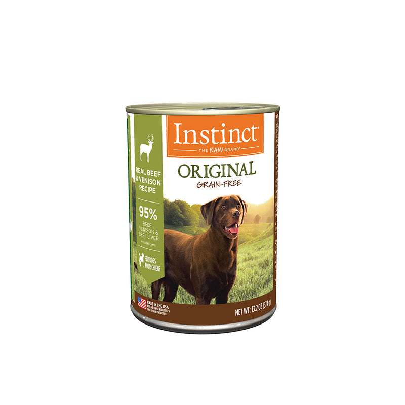 Instinct Venison Formula, Grain-Free for Dogs, 13.2oz