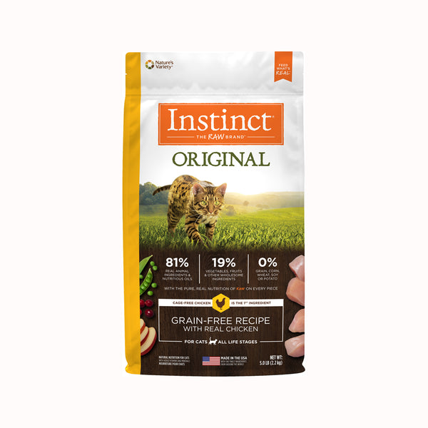 Original Grain Free Cat Kibble - Chicken, 5lb
