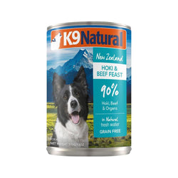 Canned Beef w/ Hoki for dogs, 370g