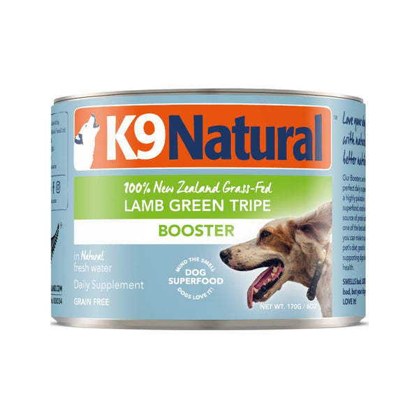 Booster Lamb Green Tripe Canned, 170g