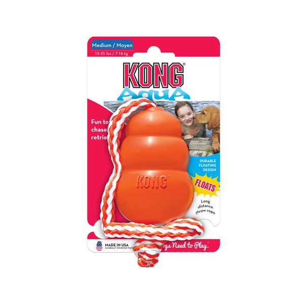 Aqua with Rope Floats Toy, Medium