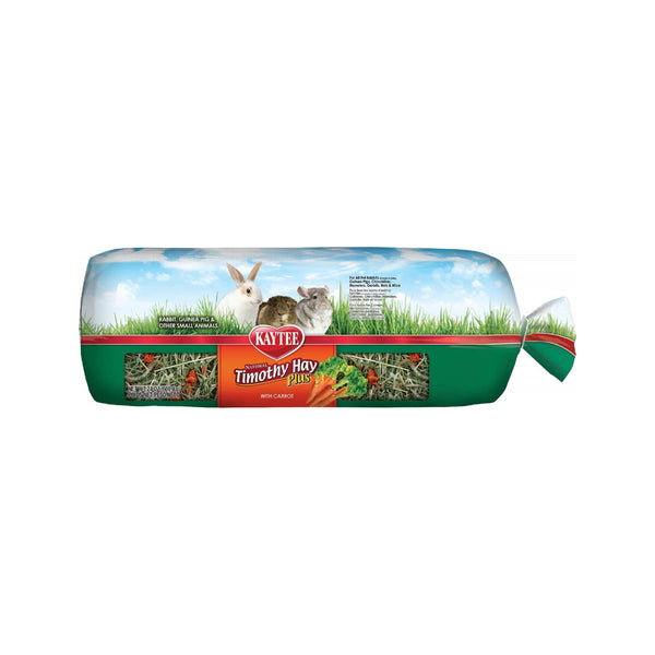 Kaytee Timothy Hay Plus with Carrots 48oz