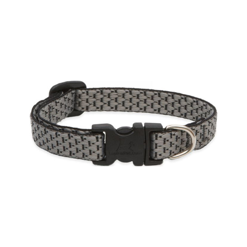 "Eco Dog Collar, Color: Granite, Width: 1/2"", Length: 8""-12"" (Adjustable)"
