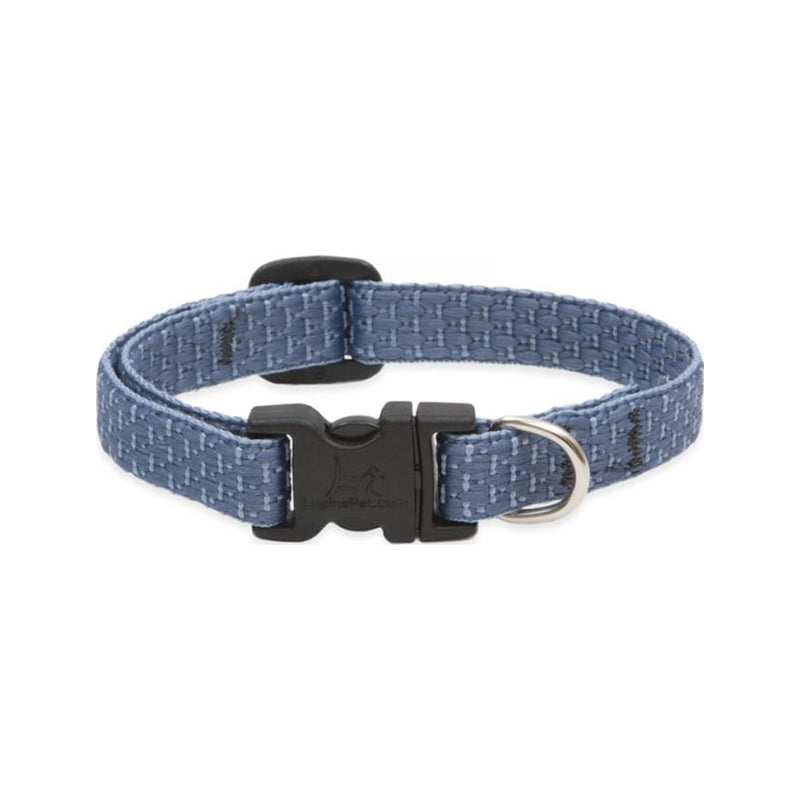 "Eco Dog Collar, Color: Mountain Lake, Width: 1/2"", Length: 8""-12"" (Adjustable)"