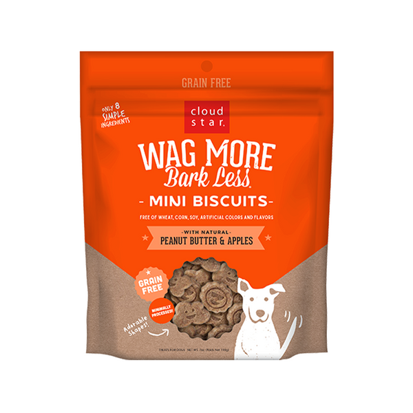 Mini Biscuits - Peanut Butter & Apples, 7oz
