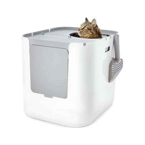Modkat XL Litter Box, Color: White