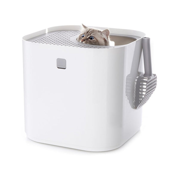 Modkat Litter Box, Color: White