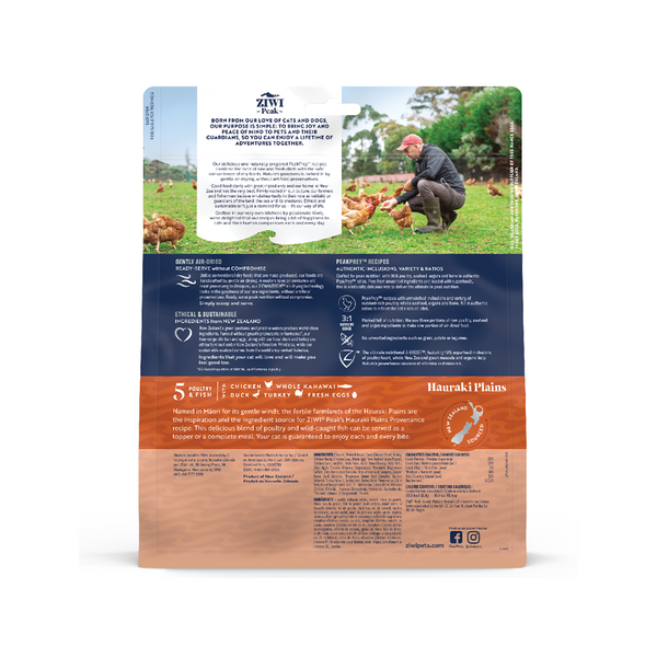 Feline Air-Dried Hauraki Plains Recipe, 12oz