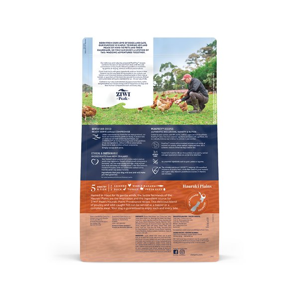 Canine Air-Dried Hauraki Plains Recipe, 1.8kg