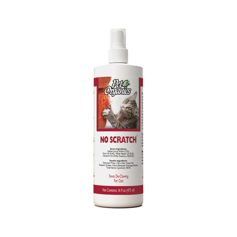 Feline Pet Organics No Scratch Cats, 16oz