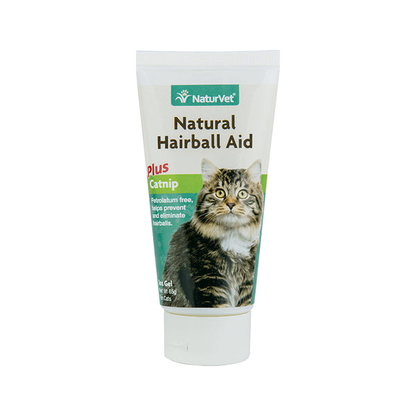 Feline Natural Hairball Aid with Catnip, 3oz