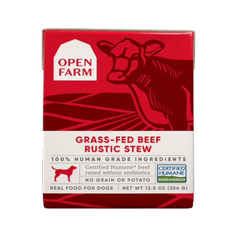 Grass-Fed Beef Rustic Stew, 12.5oz