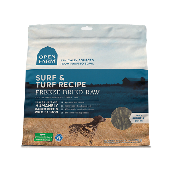 Freeze Dried Surf & Turf, 13.5oz