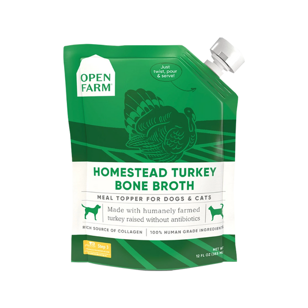 Homestead Turkey Bone Broth, 12oz