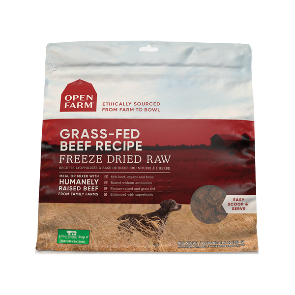 Freeze Dried Grass-Fed Beef, 13.5oz
