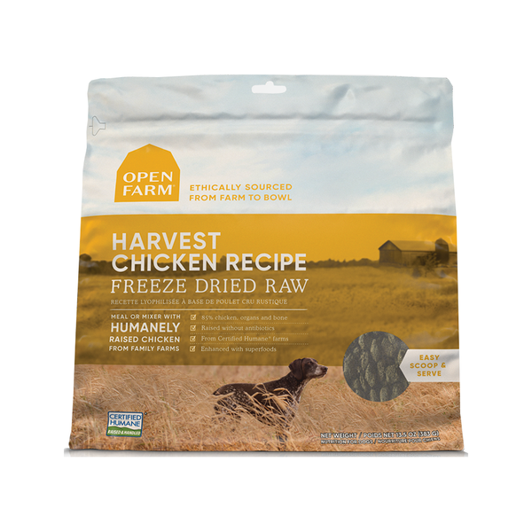 Freeze Dried Harvest Chicken, 13.5oz