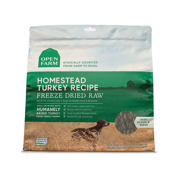 Freeze Dried Homestead Turkey, 13.5oz