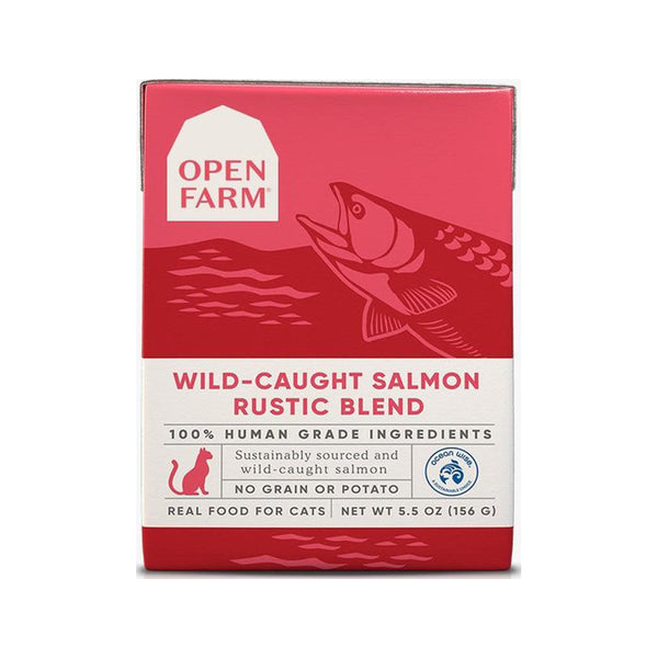 Feline Wild-Caught Salmon Rustic Blend, 5.5oz