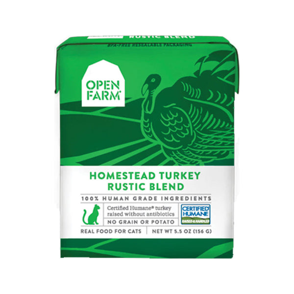 Feline Homestead Turkey Rustic Blend, 5.5oz