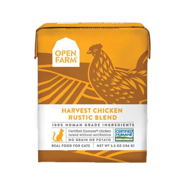 Feline Harvest Chicken Rustic Blend, 5.5oz