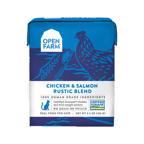 Feline Chicken & Salmon Rustic Blend, 5.5oz