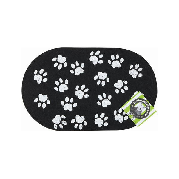 Jumbo Paws Recycled Rubber Pet Placemat
