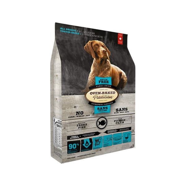 Adult Grain Free Fish Dog Food, 5lb