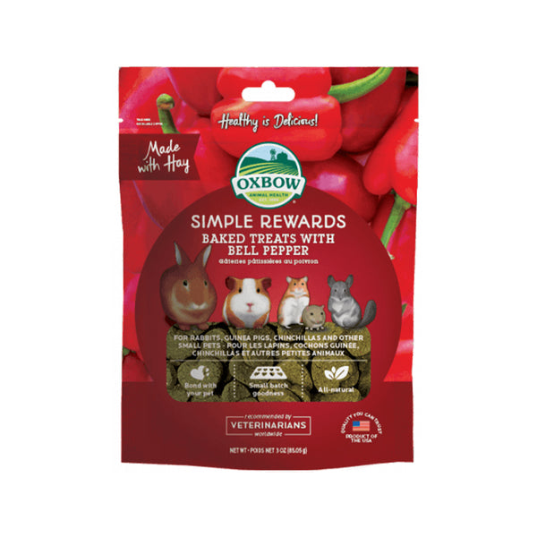 Simple Rewards Baked Treats with Bell Pepper, 3oz