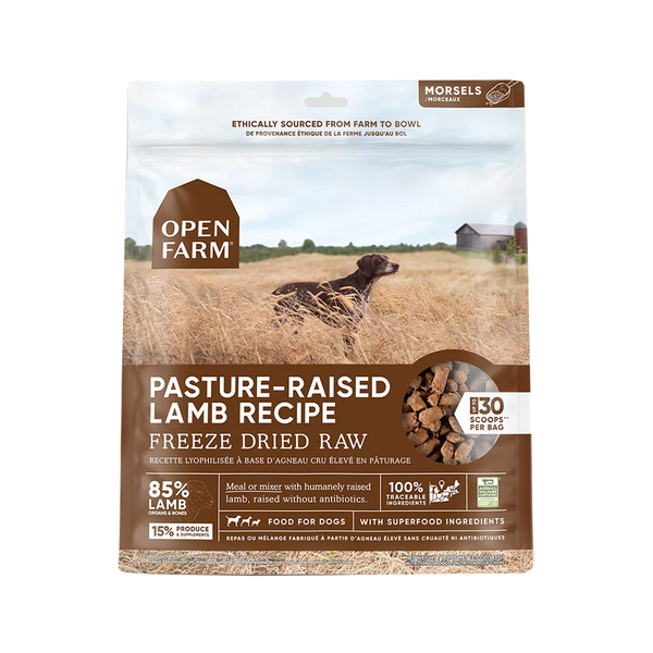 Freeze Dried Pasture-Raised Lamb, 13.5oz