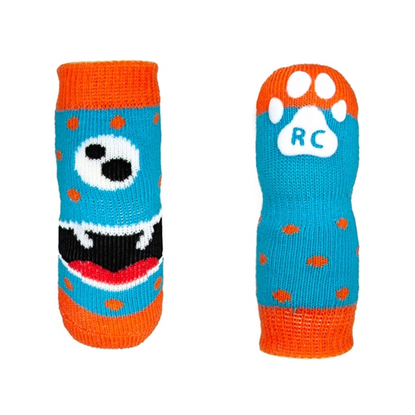 Pawks - Dog Socks - Hungry Monster, XS