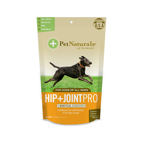 Hip+Joint PRO Chews for Dogs, 60ct