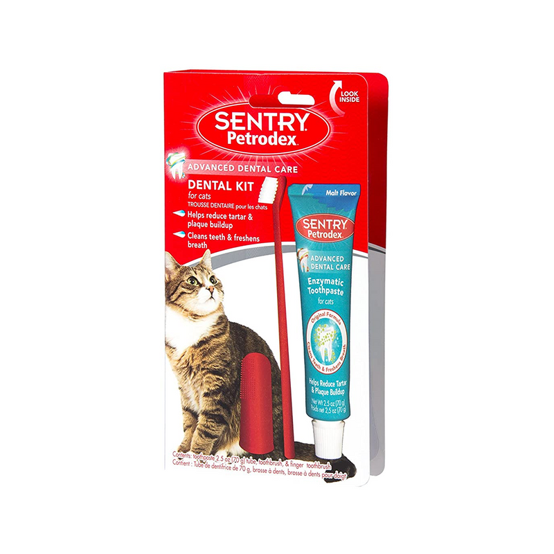 Feline Dental Kit 3 in 1 , flavor: Malt