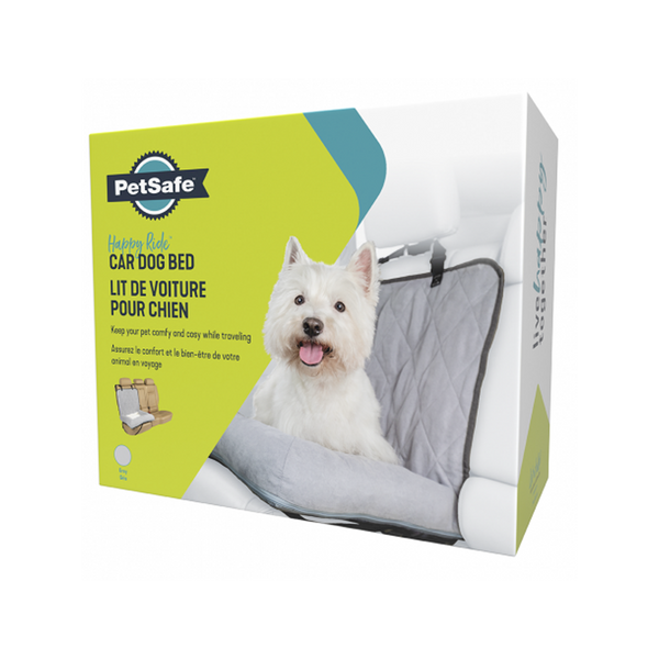 Car Dog Bed Bucket Seat, Grey