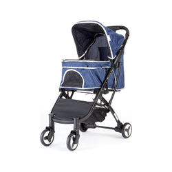 Bene II Pet Stroller Color : Navy