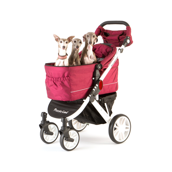 Tanto II Pet Stroller Color : Red, Large